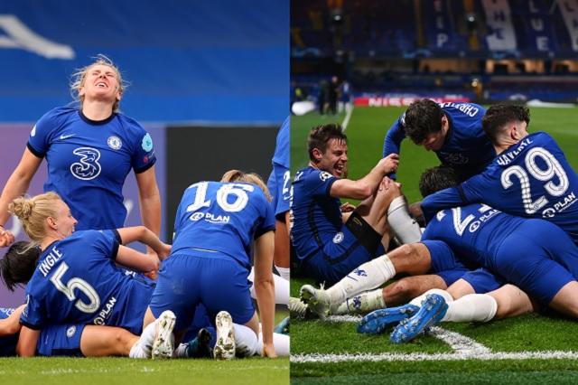 Un Chelsea histórico: equipos femenil y varonil llegan a final de Champions