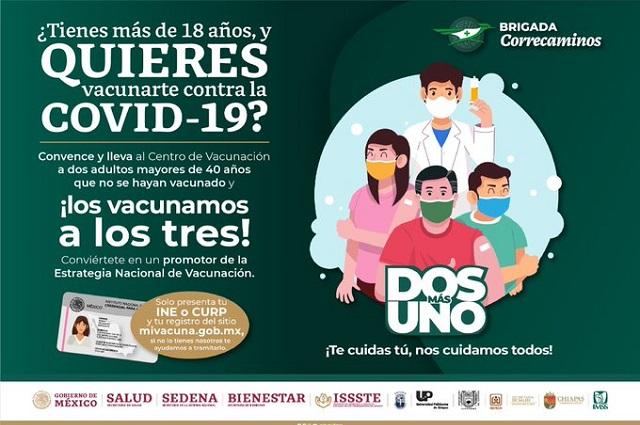 Chiapas lanza Paquete vacunes para mayores de edad