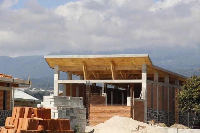 Cae 50.9% valor de producción de la construcción en Puebla