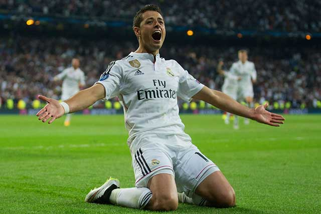 Regresa Chicharito, piden aficionados del Real Madrid