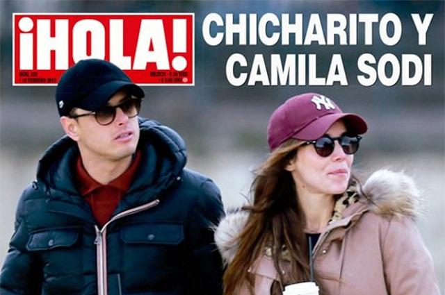 Diego Luna habría presentado a Camila Sodi con Chicharito Hernández