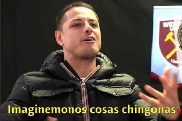 "Gracias al Chicharito, todo México imagina ""cosas chingonas"""