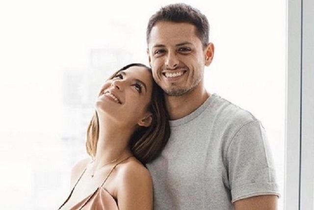 Chicharito Hernández se casó en secreto con Sara Kohan