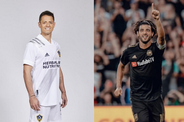 ¿Cuándo jugarán Chicharito vs Carlos Vela en la MLS?