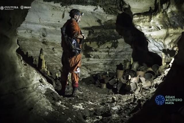 Hallan fascinante santuario oculto en Chichen Itzá