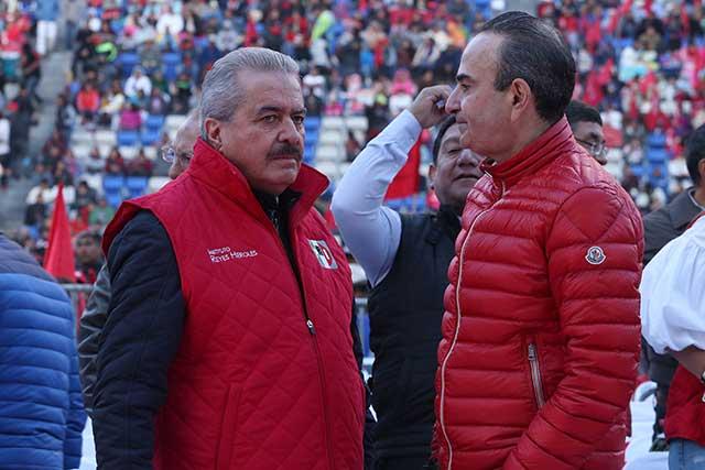 PRI respetará peso de Antorcha en candidaturas 2018: Estefan