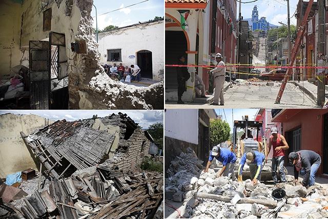 En Chietla urge resolver el dilema:  demoler o reconstruir