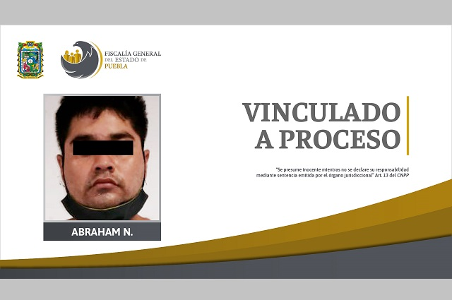 En prisión preventiva, presunto responsable de homicidio en Chietla