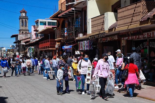 Guadalupe-Reyes aumentó el Covid en Pueblos Mágicos poblanos
