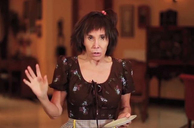 #LadyChimoltrufia Florinda Meza revive a su personaje del Chavo del 8