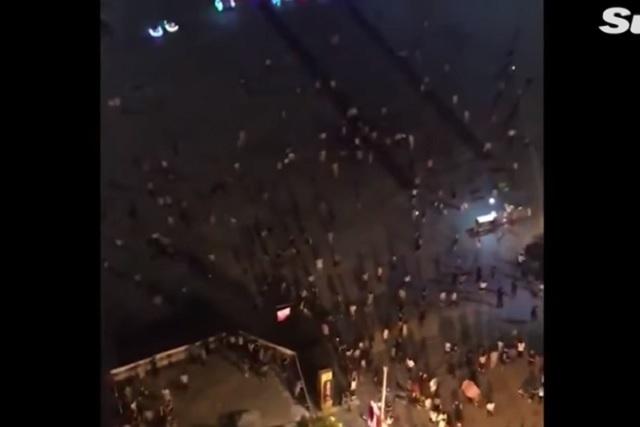 Camioneta arrolla a 50 y mata a nueve en plaza pública de China