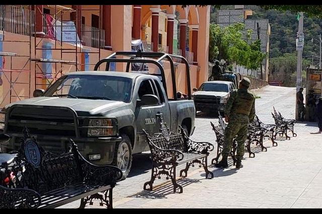 """Piden a la GN que vuelva a """"Las Palomas"""" en Chinantla"""