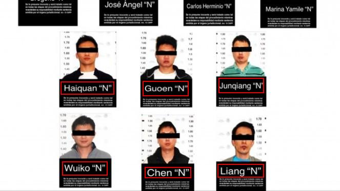 Caen en la CDMX 6 chinos y 4 mexicanos ligados al Cártel de Jalisco