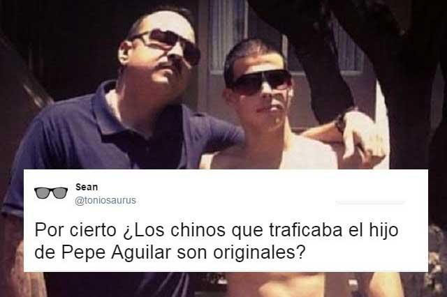 Tuiteros hacen chistes de la detención del hijo de Pepe Aguilar