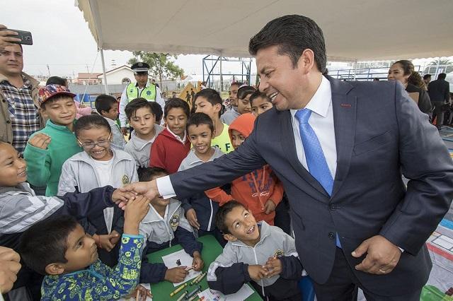 Destaca Paisano avances en salud y educación en San Andrés Cholula