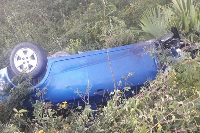 Precandidata a alcaldía en Quintana Roo sufre accidente automovilístico