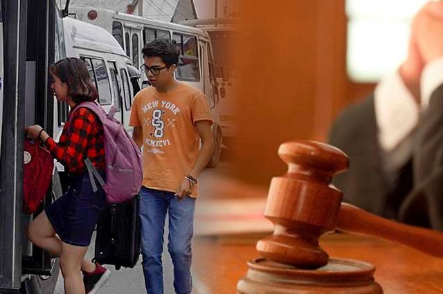 Transportistas se van al amparo por tarifa estudiantil en Puebla