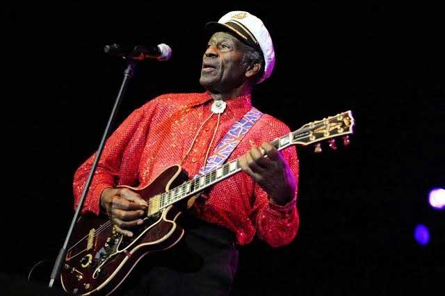 Muere Chuck Berry, uno de los padres del rock and roll
