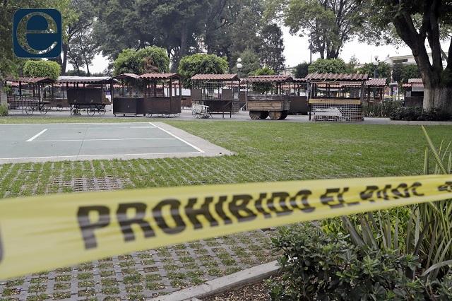 De infarto muere hombre en el zócalo de San Pedro Cholula