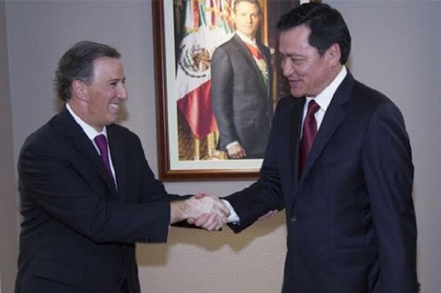 Rechaza Osorio Chong que el PRI se haya equivocado al postular a Meade
