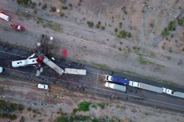 Accidente carretero en Sonora Deja 16 muertos y 22 heridos