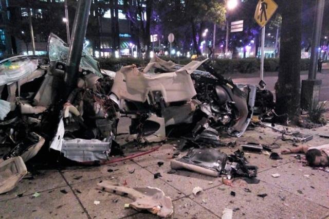 Confirman 9 años de prisión a conductor de BMW que chocó en Reforma