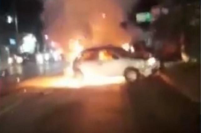 Diputado que participó en choque dice que no huyó de la zona del accidente