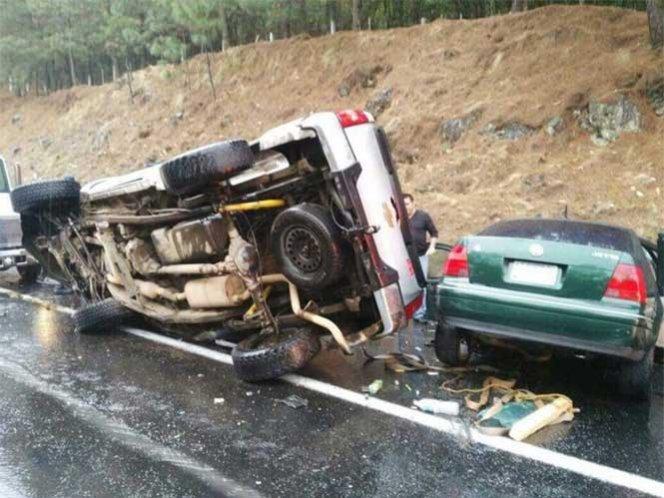 Cae uno de los que provocaron el choque en la autopista Siglo XXI