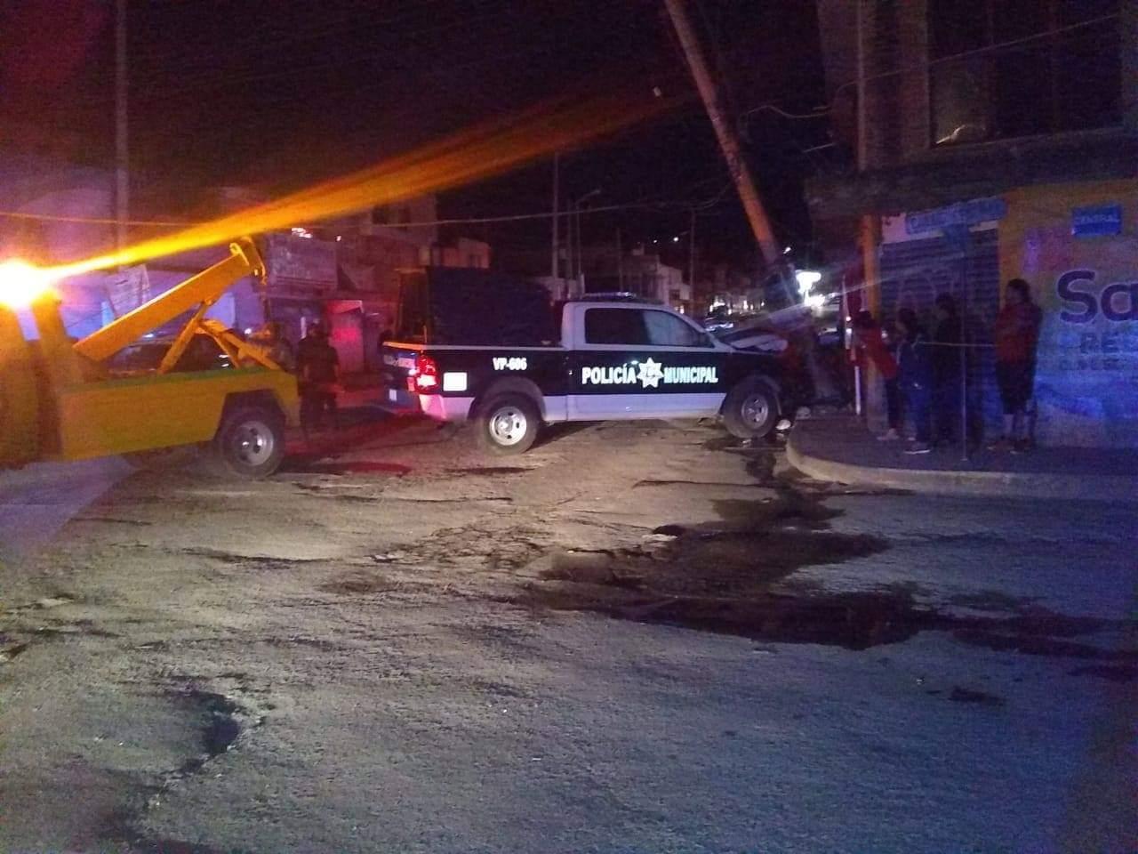 Una decena de heridos dejan 2 choques de patrullas en Puebla