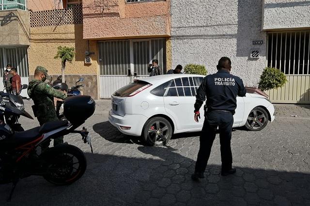 Hombre atropella a ciclista y se impacta contra vivienda en Tehuacán
