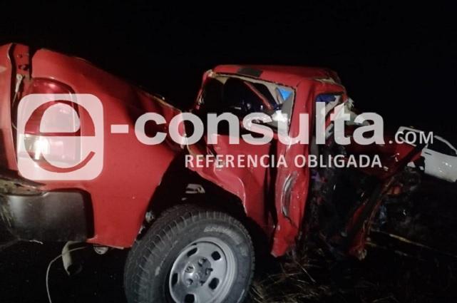 Fallece jefe ministerial en la Amozoc - Perote por choque