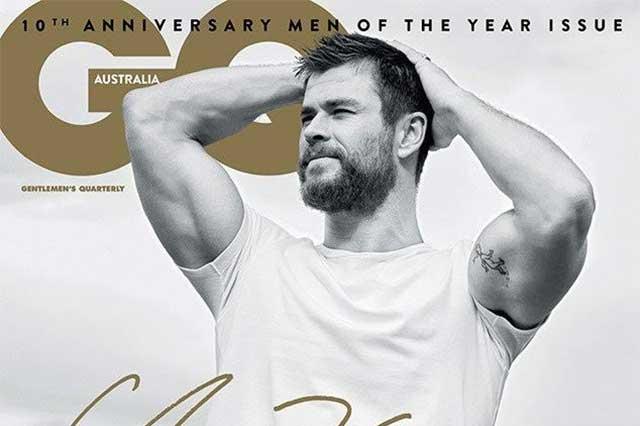 Chris Hemsworth es nombrado hombre del año por revista australiana