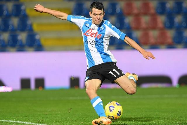 'Chucky' Lozano contribuye con gol en victoria de Napoli ante Crotone