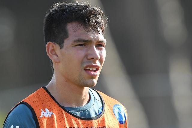 'Chucky' Lozano regresaría a las canchas en el debut de Napoli