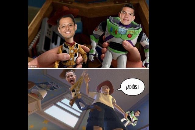 Adiós Chicharito: Los memes del show del Chucky Lozano ante Bélgica