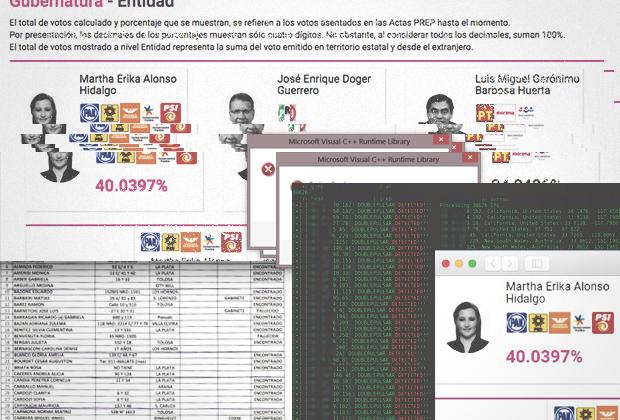También ubican robo cibernético y embarazo de urnas en Puebla