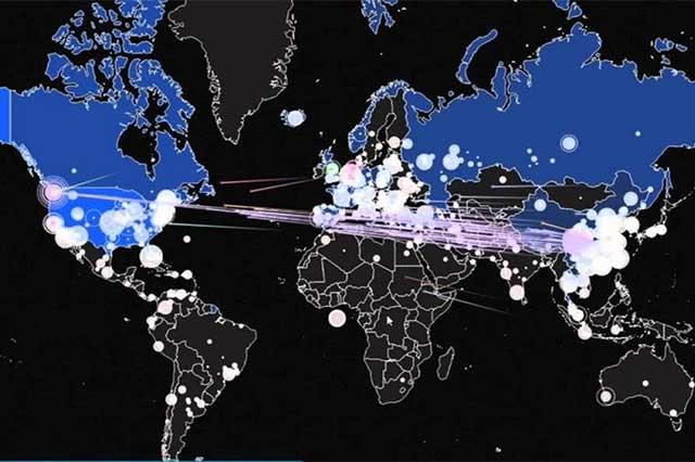 Reportan ciberataque mundial que dañó las estructuras de 74 países