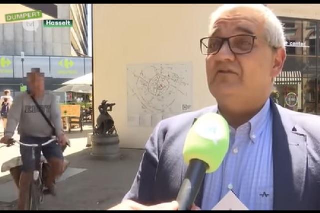 Ciclista ebrio arrolla a alcalde durante transmisión en vivo