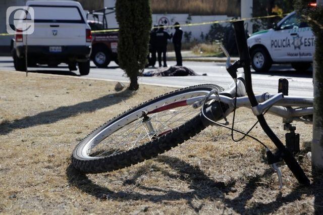 Ciclista muere atropellado en Juan C. Bonilla