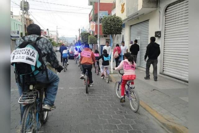 Aumenta uso de motocicleta en Tehuacán y baja uso de la bicicleta