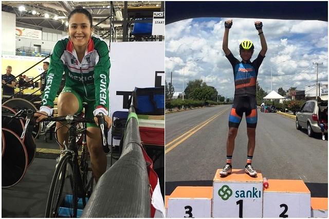 Ciclistas Jessy Salazar y José Muñiz representarán a México en Colombia