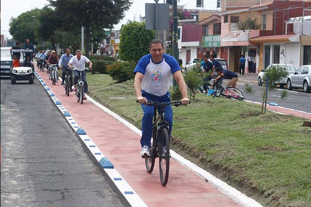Inauguran el Parque Lineal Universitario, de CU al centro
