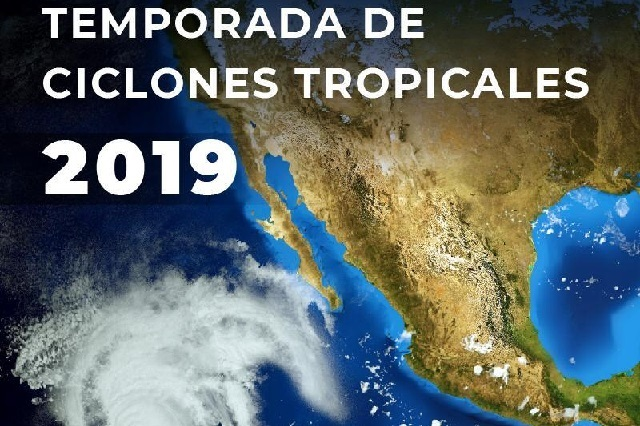 ¿Cuáles son los nombres de los ciclones en 2019?