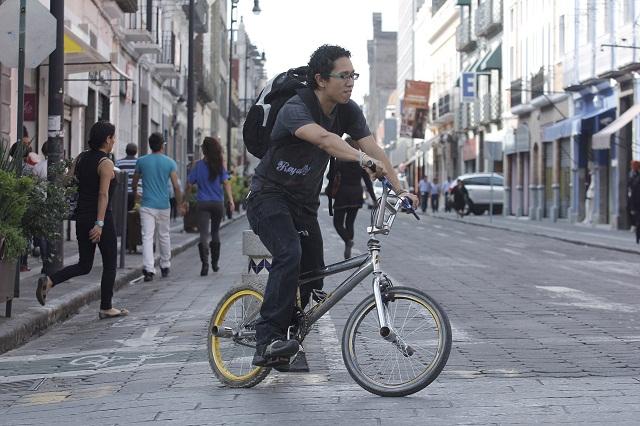 Confirman a Puebla como ciudad cafre para peatones y ciclistas
