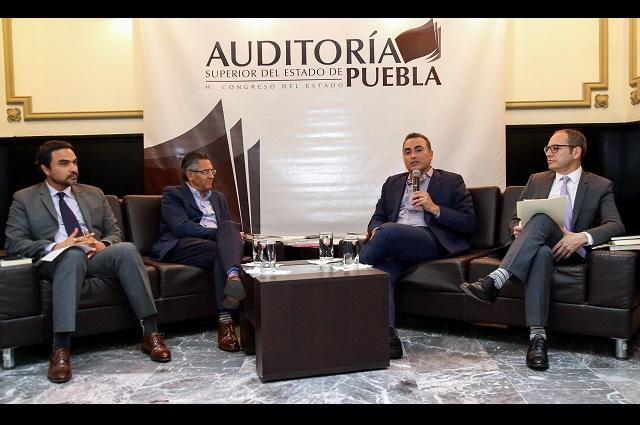Analizan en Puebla ejemplos de fiscalización en América Latina
