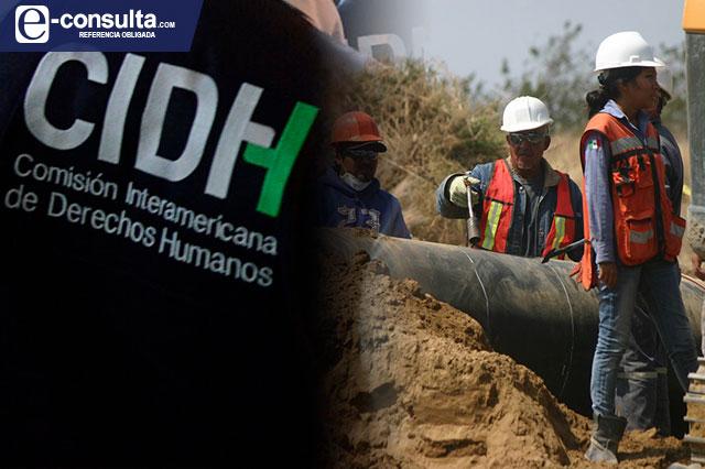 Indaga CIDH violaciones por obras del gasoducto Puebla-Morelos
