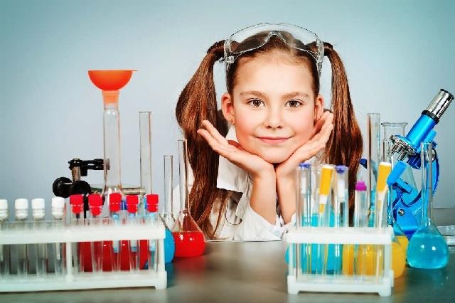 Desde la infancia se muestra el vínculo de niñas con la Ciencia y la Tecnología