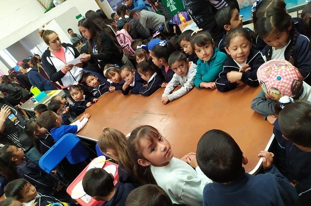 Acerca INAOE la ciencia a niños de rancherías de Puebla