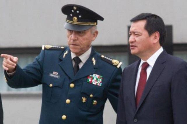 Eruviel Ávila y Osorio Chong, en el expediente contra Cienfuegos