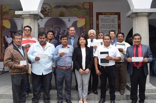 Sin heredar deuda cierra periodo gobierno de San Pedro Cholula